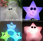 colorful star led night light with high quality
