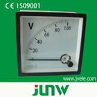 96*96 series mounted analog ac voltmeter