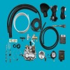 CNG open loop system for Auto part