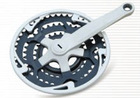 bicycle chain wheel & crank