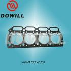 komatsu engine parts head gasket