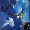 Handmade Craft Decorative Oil Painting