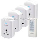 TW68C, 1v1, 1v2, 1v3, 1v4, wireless Remote Control Socket (Chinese type, plug-in)