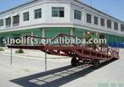 2 wheel Mobile yard ramp