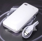 Rechargeable External Battery Charging Case for iphone 4
