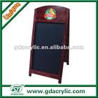 A-Frame outdoor chalkboard