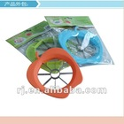 2012new design fashion plastic apple cutter and fruit piler