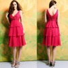 BWD882 Newest Arrival Sleeveless Bridal Evening Party Dress Bridesmaid Dress