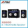 2.1 multimedia speaker with 4*2030ST IC