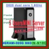 Small desktop pc server mini itx server small computer small pc