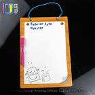 Cute dry erase paper board with logo printing