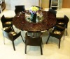 inlaid mother of pearl furniture conference table, dining table