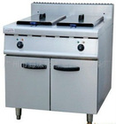 Electric Fryer (2-tank&2-basket) with Cabinet