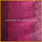 Curtain embossed blackout fabric for sale
