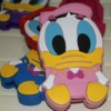 3D Donald Duck Silicone Case For Blackberry 9220 9320