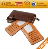 Leather Zipper Wallet With Mobile Phone Holder For Men