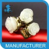 attractive roes alloy napkin rings for weddings cute