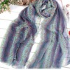 fashion leopard print mix color long scarf for 2012 autumn
