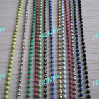 2.4mm Smoothly Colored Iron Bead Chain