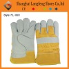 Leather safety glove