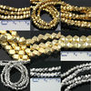 loose faceted gold silver nuggets beads