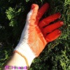 Latex work gloves,working gloves,work gloves,Safety gloves,Economy latex string knits safety gloves