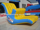 inflatable water seesaw/water park toy/swimming pool jump game