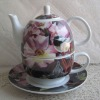 Porcelain teapot set