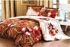 100% Polyester reactive printed bedding set