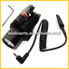Tactical M6 Gun Sight LED Flashlight & Red Laser Sight