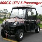 4X4 500CC UTV 5 Passenger