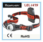 New Aluminium Head light headlamp Can turn from 10 LM to 120 LM (LFL1479)