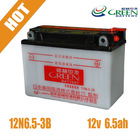 Exporting High Quality DIN Standard Battery 12V 6.5AH (12N6.5-3B)