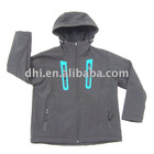 softshell child wear with hood