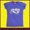 Newest Women Lycra T shirt With Print