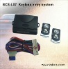 BCS-L07 keyless entry system with siren signal