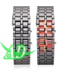 Iron Samurai Watch/Wristwatch Red Led Light