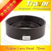 Travor 72mm rubber lens hood