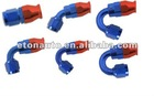TPFE Hose End-Straight 45Degree/90Degree/120degree/150degree /Aluminum AN Fitting/Alu AN HOSE Fitting Adapter AN4 to AN12
