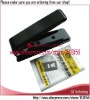 Micro Sim to Nano Sim Card Cutter with Adapter for iPhone 5 5G Black