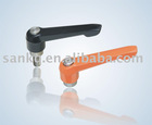 Adjustable handle SK7018 with stainless steel and Clamp lever handle