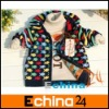 Baby Boy's Sweater Cardigan Long Sleeve Kids Sweater Coat Outwear Small Fish Jacquard 2 Colors 3 Sizes