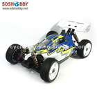 1/8 Scale ZRB-1 Brushless RC Electric Off-Road Buggy RTR 08421 with Four-Wheels Drive, 2.4G Radio, 2100KV Motor, 7.4V 25C 4000mA