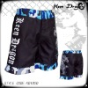 Men's boxing garment 100% polyester mma fighting shorts