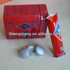 33mm silver round shisha charcoal