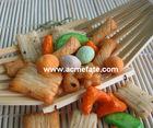 mixed rice cracker