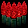 35L Christmas light C6 string / red color