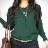 green Autumn blouse