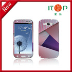 Christmas Front and back set sticker color screen protector for I9300 S3