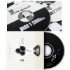 CD recording and printing with cool black and white color style